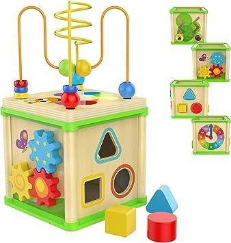 Amazon.com: Juguete educativo brillante para un año de niños ...
