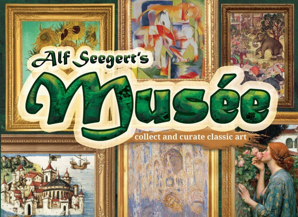 Aquila Gryphon Games eag01480/ /Gioco di Carte Musee
