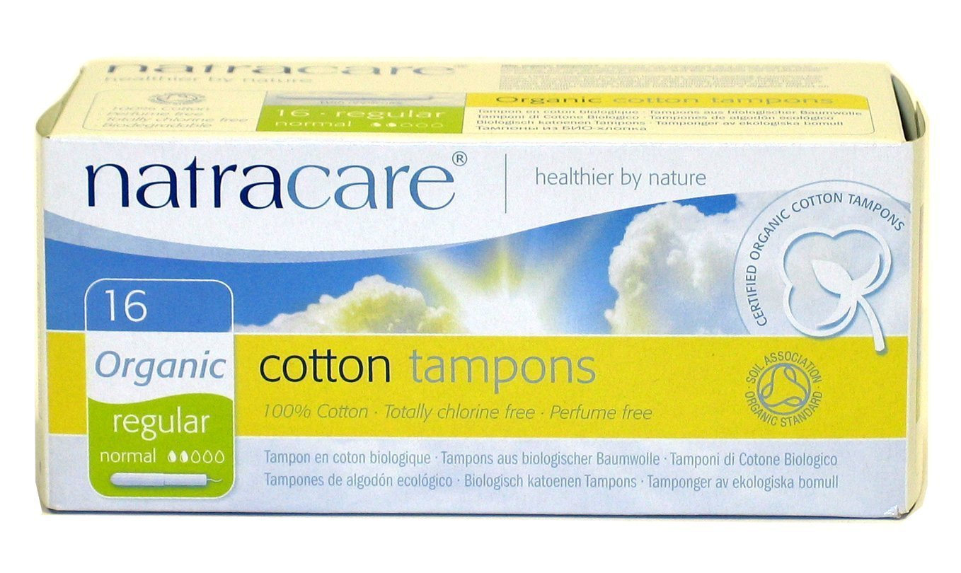 Natracare Tampons Reg With Applictr 16 ct (Multi-Pack of 12 boxes, 192 Total) by NATRACARE