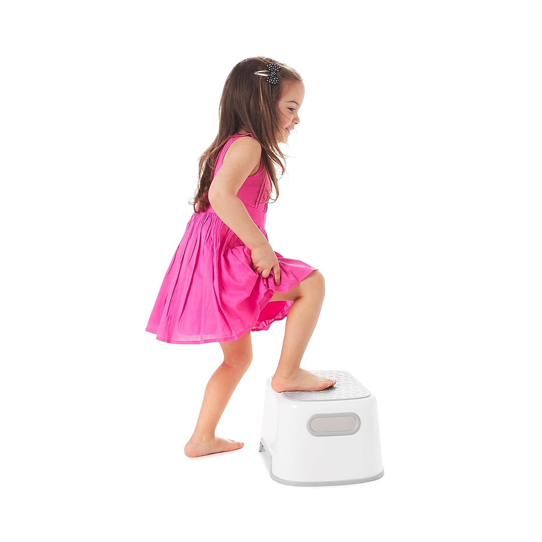 Prince Lionheart UPPY2: 2 steps - Flashbulb Fuchsia non slip /& feet Double Step