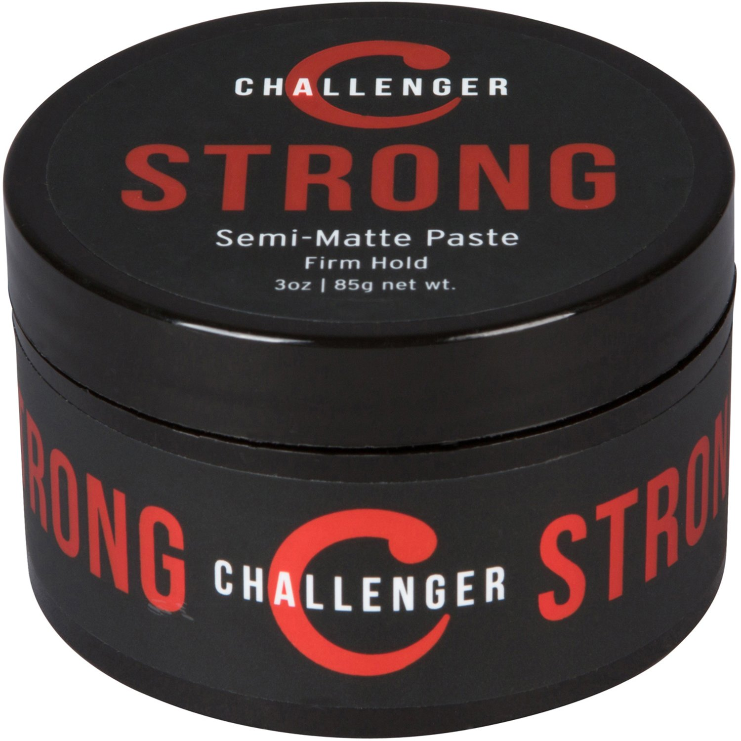 Strong Semi-Matte Paste - Firm All-Day Hold, Slick Finish - Best Men's Styling Paste - Water Based, Clean & Subtle Scent, Travel Friendly. Hair Wax, Fiber, Clay, Pomade, and Cream, All In One