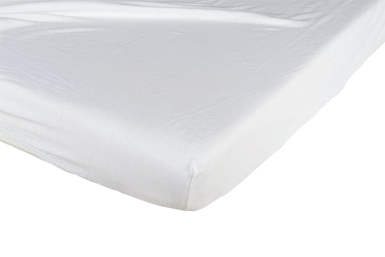 Juego de 2 s/ábanas bajeras de cuna Tineo 690833 70x140cm,color topo y blanco