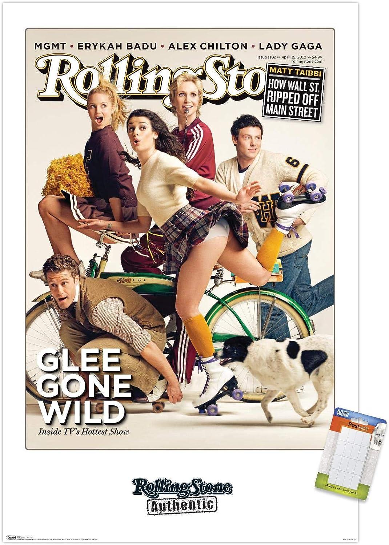Trends International Rolling Stone Magazine - Glee 10 Wall Poster, 14.725