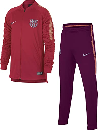 Nike FCB Y NK Dry SQD TRK K Chándal, Unisex niños, Rosa (Tropical ...