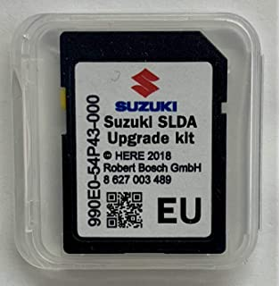 SD CARD Suzuki SLDA Europe 2018-990E054P43000: Amazon co uk