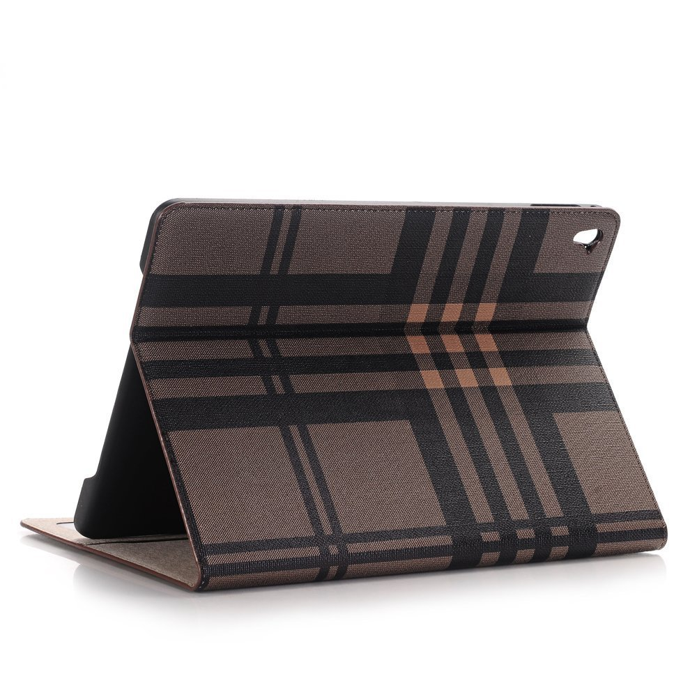 Sammid 2018 Huawei MediaPad M5 Cover, Protective Tablet Cover with Standing Function,PU Leather Case with Card Slot for Huawei MediaPad M5 8.4 inch - Brown