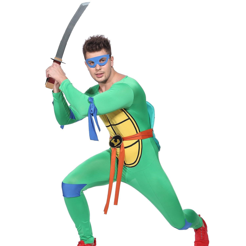 Anladia - Disfraz de Tortugas Ninja para Hombre: Amazon.es ...