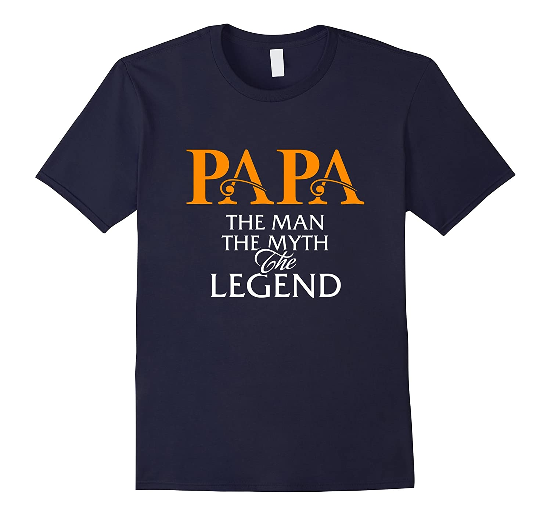 Men's papa tshirt-Art