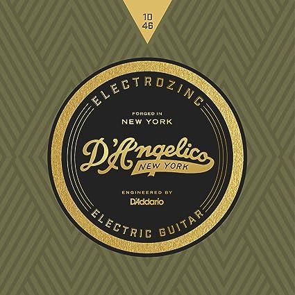DAngelico Electrozinc Rock 10-46 - Cuerdas para guitarra eléctrica