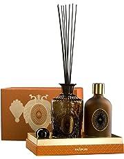 PAÑPURI Diffuseur d'Ambiance Grand Manchou 100% huiles essentielles, Eucalyptus & Mandarine, 450 ml