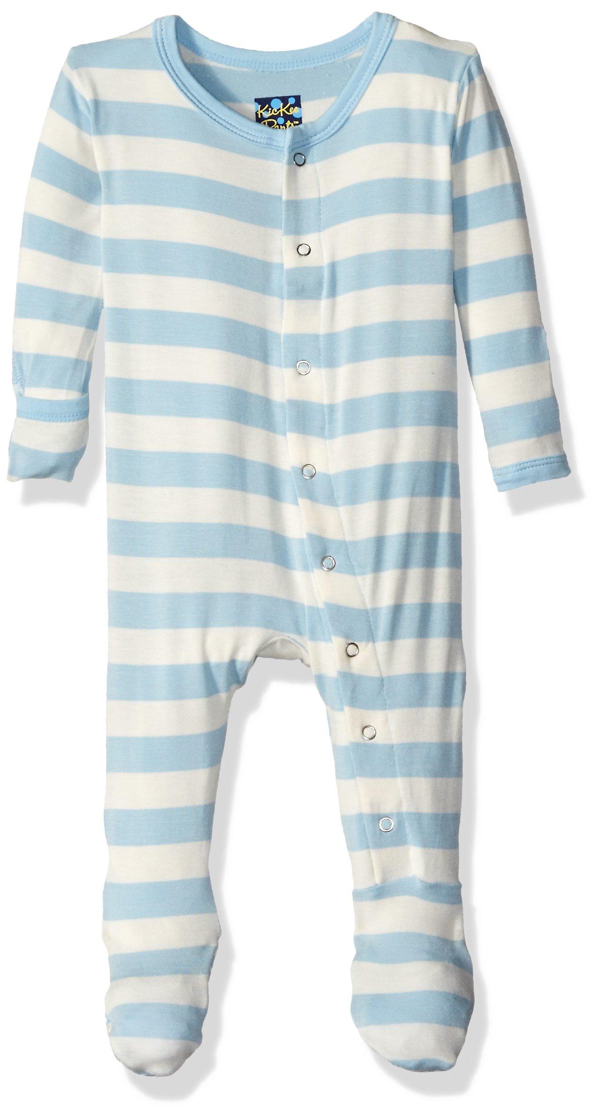 Amazon KicKee Pants Little Boys Basic Footie with Zipper