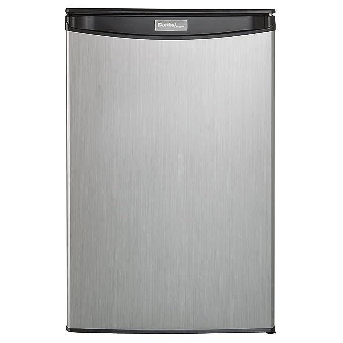 Amazon Danby Dar044a5bsldd Compact Refrigerator Spotless Steel