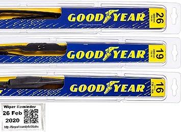 Amazon Com Toyota Prius 2010 2014 Wiper Blade Kit Set