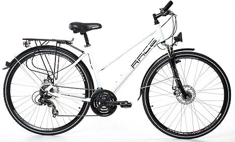 Bicicleta de ciudad para mujer, 28, aluminio, dinamo de buje ...