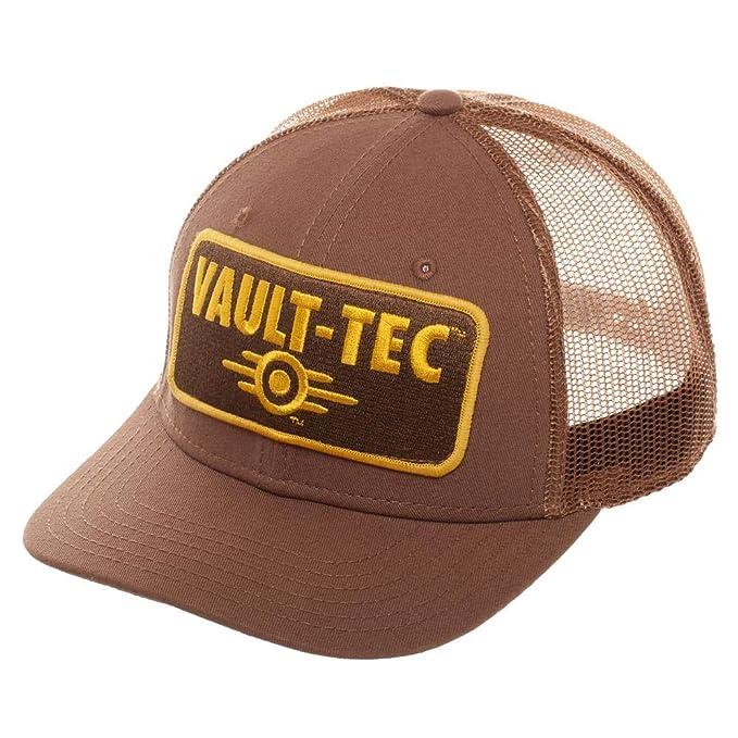 Amazon.com  Bioworld Fallout Vault-Tec Trucker Snapback Hat  Clothing 2a2b5ff04970
