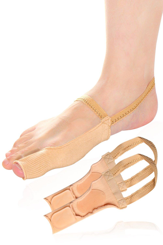 ToeGlow Bunion Relief Bunion Pad Bunion Cushion, Bunion Corrector Bunion Brace for Big Toe Straightener, Bunion,Hallux Valgus (Small Size(US Size): W6.5-8.5)