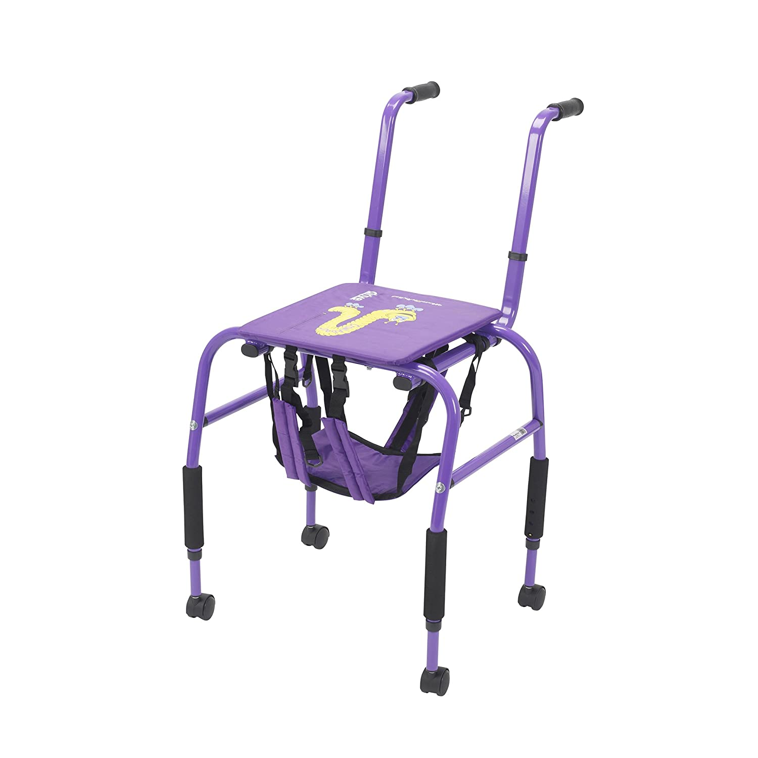 Wenzelite Crawlabout Rehab Crawl Trainer, Purple, Small