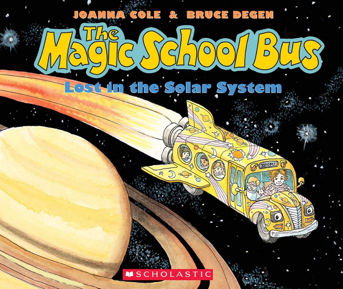 The Lost In The Solar System  The Magic School Bus   With Paperback Book