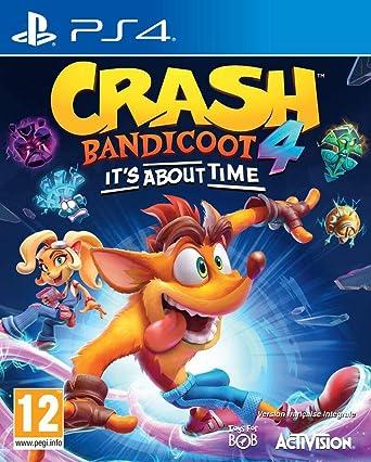 Crash Bandicoot 4 Cover Art