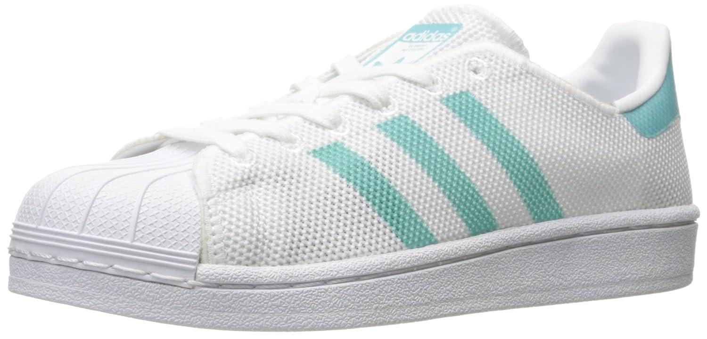 adidas Women's Originals Superstar B01LXC7ZBU 8.5 B(M) US|White/Easy Mint/White