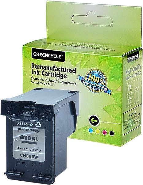 Amazon.com: greencycle 61 x l negro/Tri-color cartuchos de ...