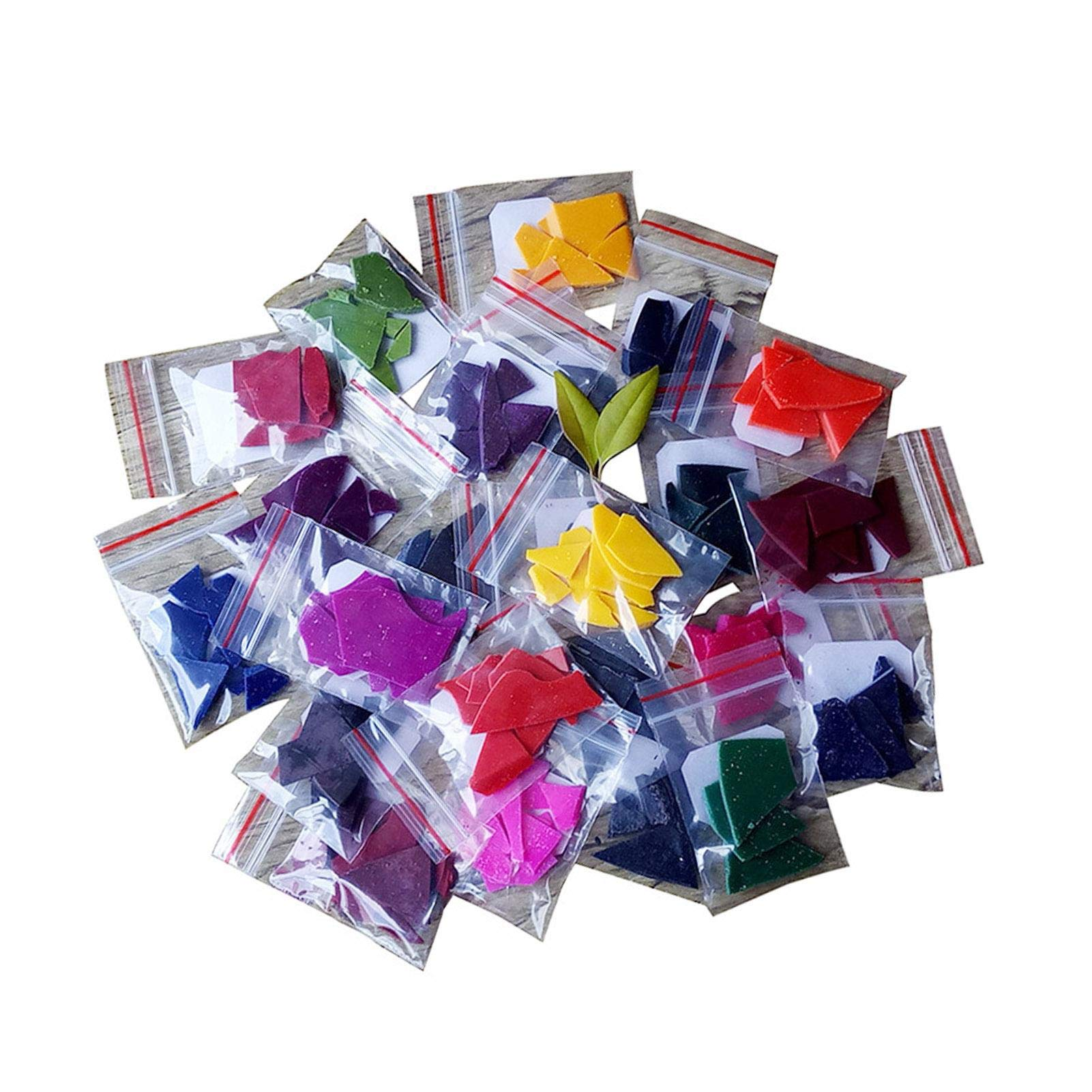 Candle Making Kit Supplies - 24PCS Soy Candle Wax Dye Chips, Soap Making Colouring Dye, for DIY Candle Making Supplies, 5g/Pack