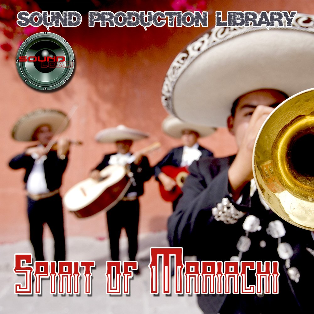 MARIACHI SPIRIT - UNIQUE original Multi-Layer Studio WAV Samples Library on DVD