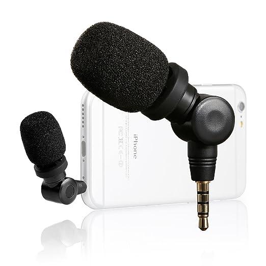 2 opinioni per Saramonic iMic Microfono a condensatore dispositivi con uscita (3,5 mm) per