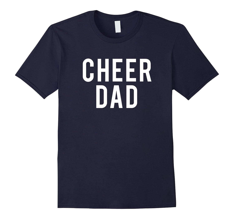 Cheer Dad Cool Slogan Printed T-Shirt-T-Shirt