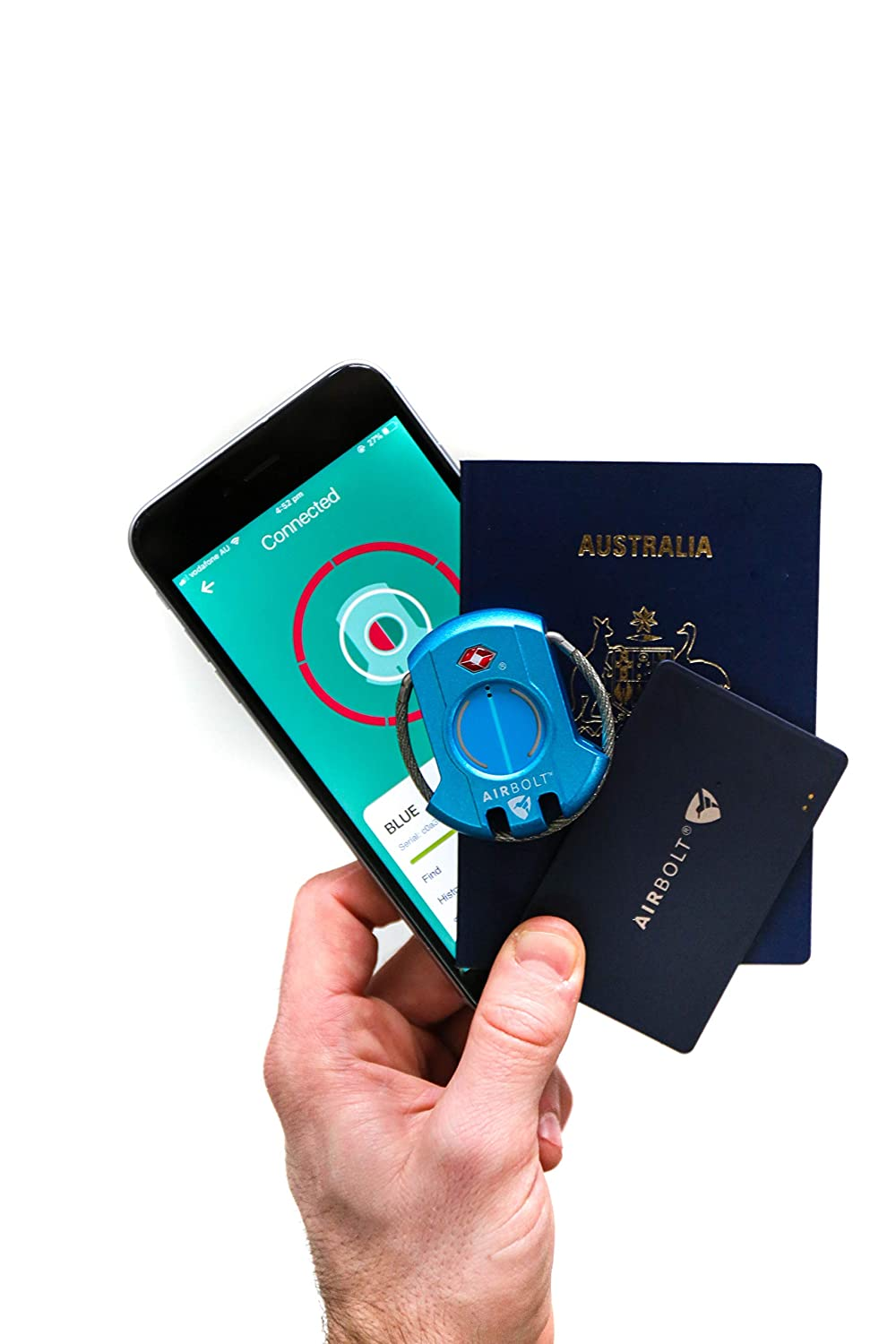 The Credit Card Like Tracker is Your Perfect Companion to Help Locate Anything You Attach or Slip it into. AirBolt Shield Card with World Class Range