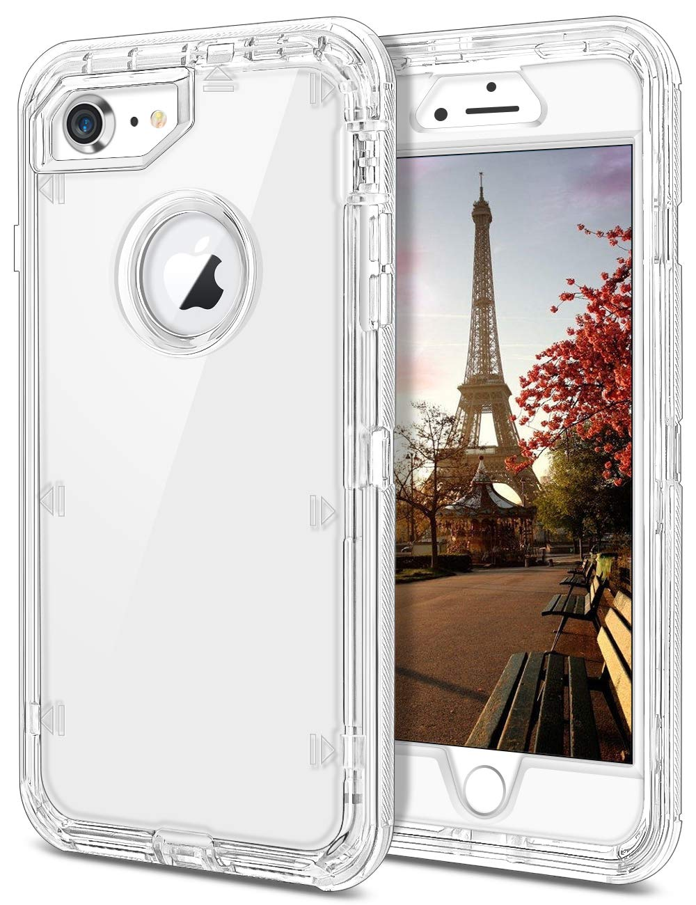 iphone 8 case clear shockproof