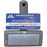 Millers Forge Curved Slicker Brush Mini