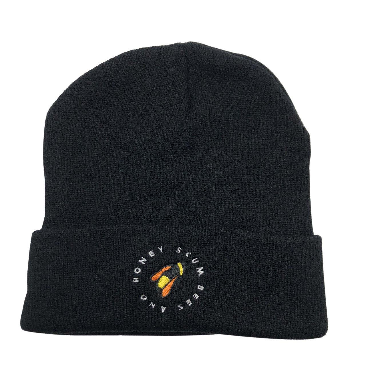 CZZYTPKK Golf Wang Warm Winter Hat Knit Beanie Skull Cap Bee Embroidered  Soft Headwear Black at Amazon Men s Clothing store  d0b959c3571