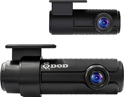 "Dual Lens 2CH Wide Angle Dash Cam 1080P 2/"" LCD Sony Exmor Sensor GPS 32GB Card"
