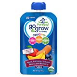 Amazon Price History for:Go & Grow by Similac Fruit and Veggie Pouches with OptiGRO, Apple, Butternut Squash, Banana, Blueberry Puree, For Toddlers, Organic Baby Food, 4 ounces, Pack of 12