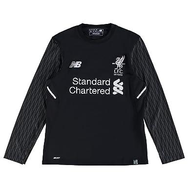 the best attitude be228 25d7a New Balance Liverpool Away Goalkeeper Shirt 2017-18 - Long Sleeve - Kids