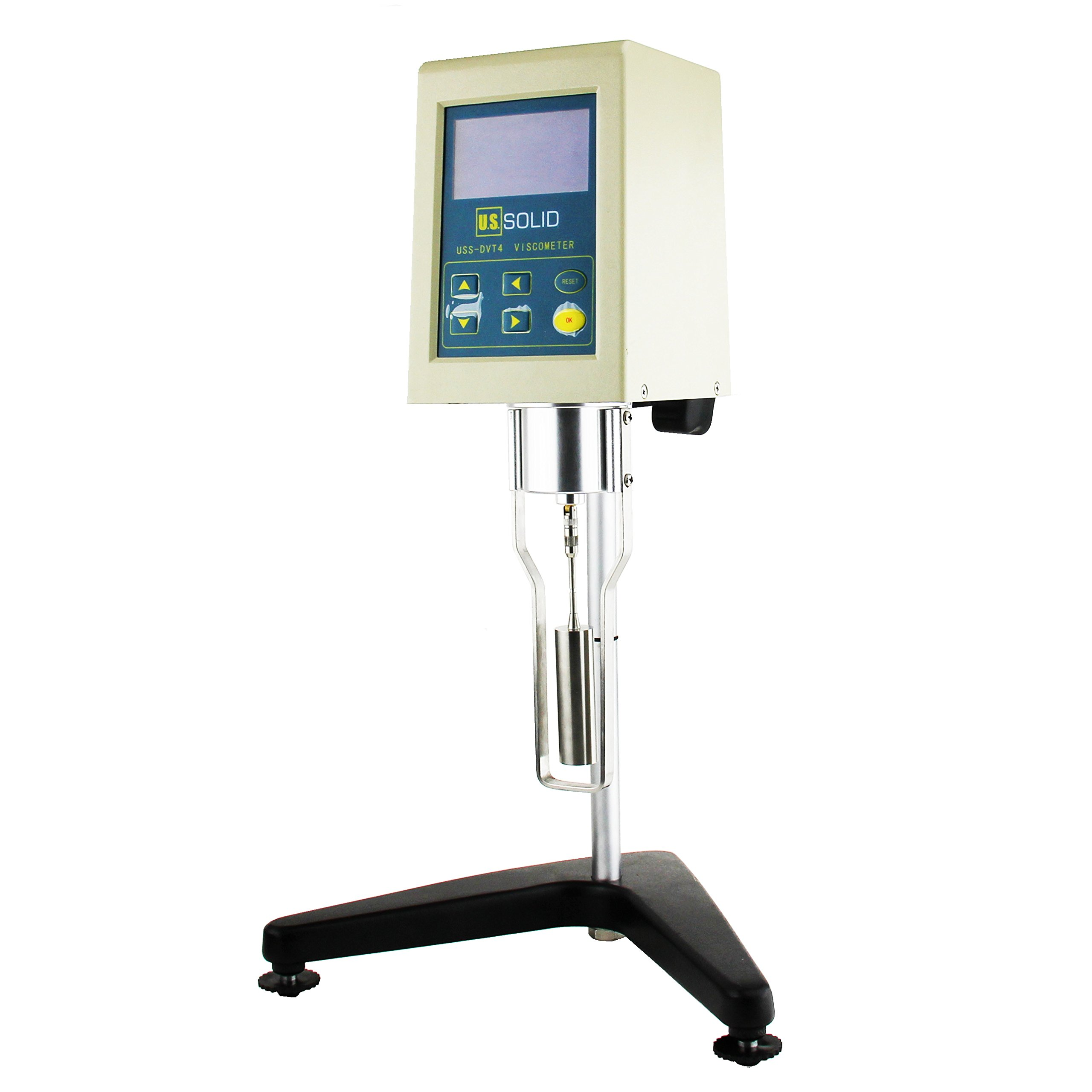 Rotary Viscometer Viscosity Meter w/ LCD Display Screen 1-1×10^5mPa·s