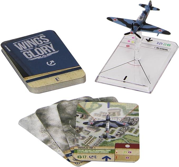 Wings of Glory WW2 Yakovlev Yak-1 Litvjak - New!