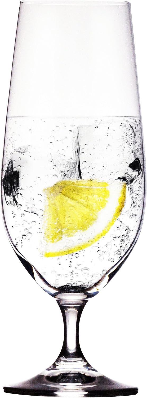David Shaw Bohemia 380ml Lara Footed Water//Beer Glass 4 Pack 13.5 oz