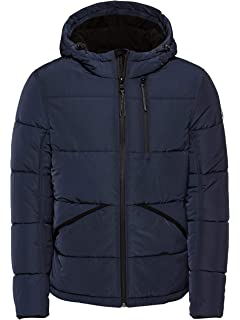 TOM TAILOR Herren Peached Winterjacket Jacke:
