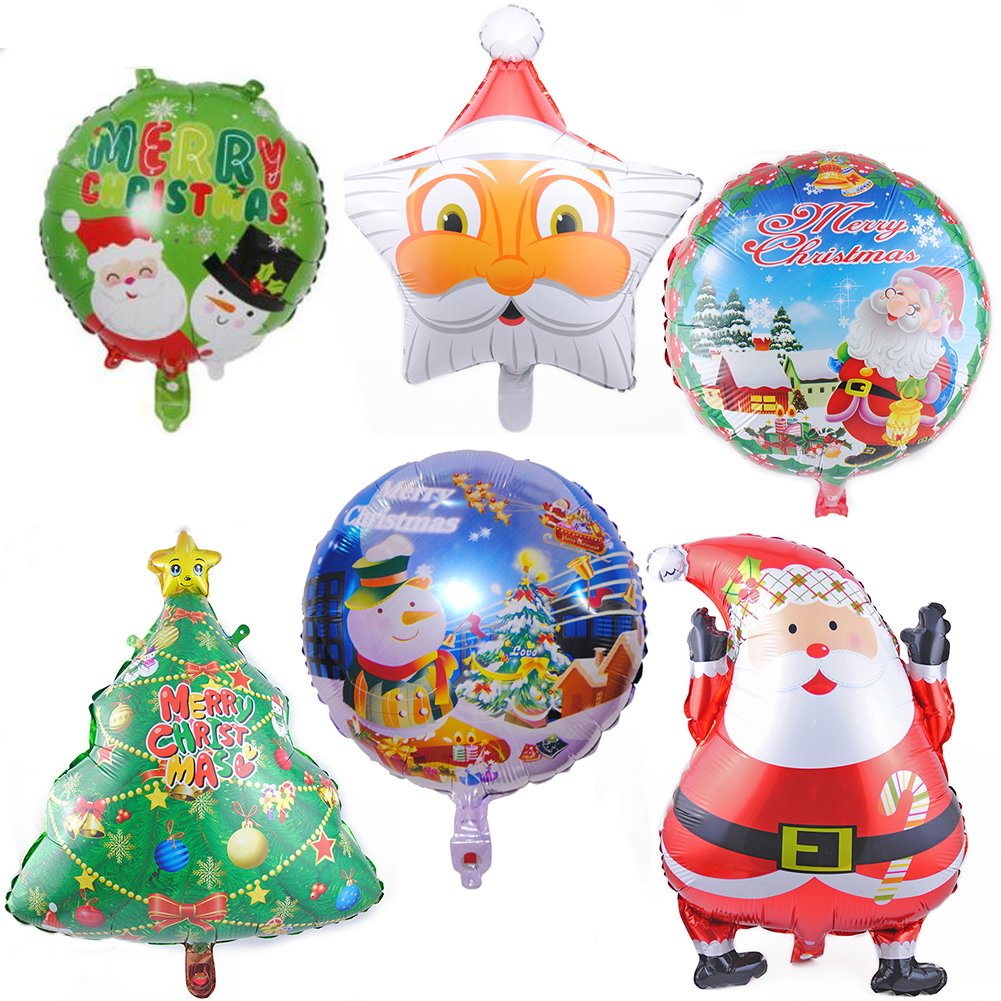 Coscelia Weihnachtsdeko Ballons SNOWMAN Folienballon Weihnachten ...
