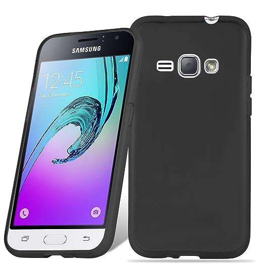 2 opinioni per Cadorabo- Custodia silicone TPU per Samsung Galaxy J1 (6) (Modello 2016) super