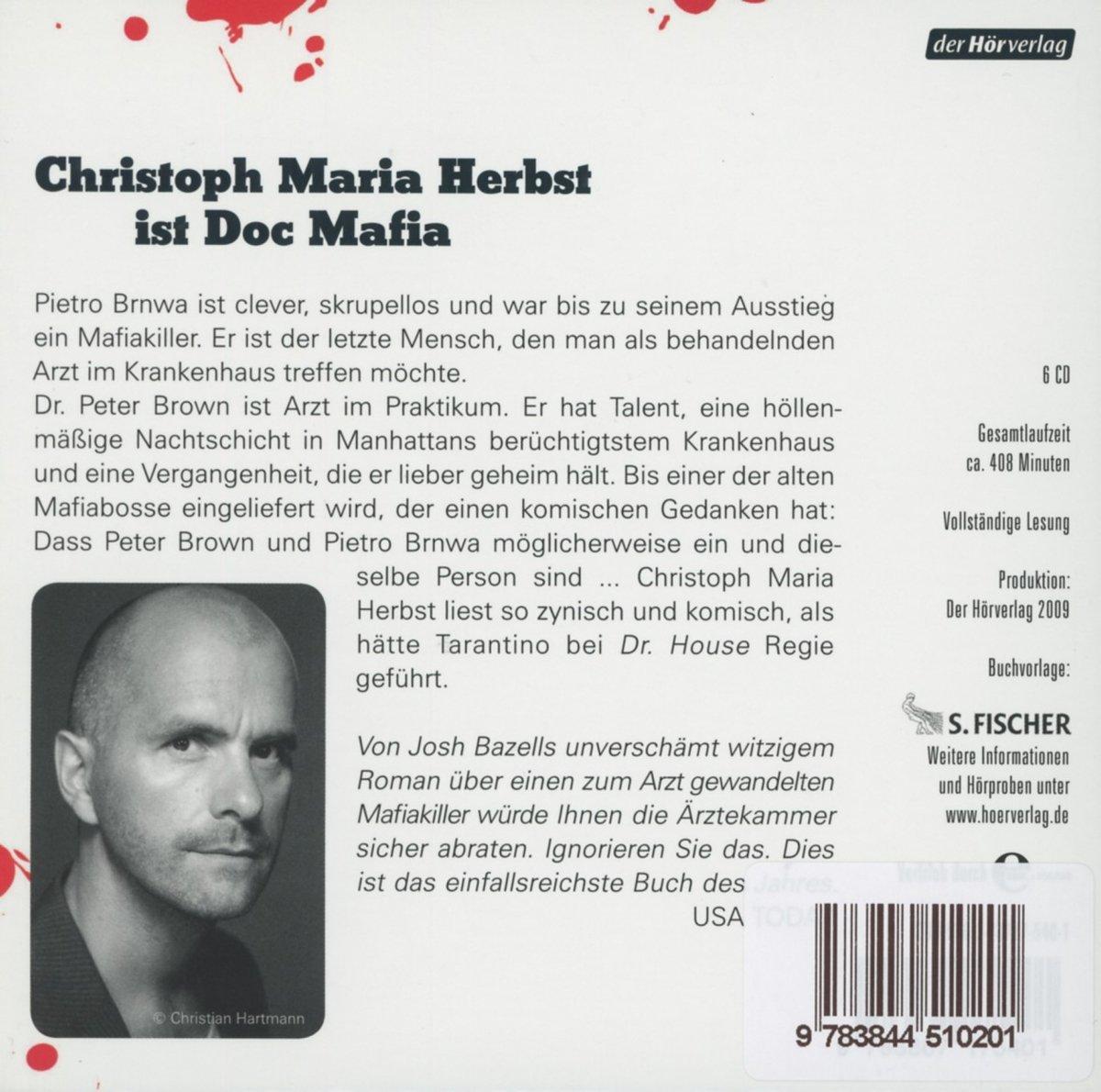 Schneller als der Tod: Josh Bazell: 9783844510201: Amazon.com: Books