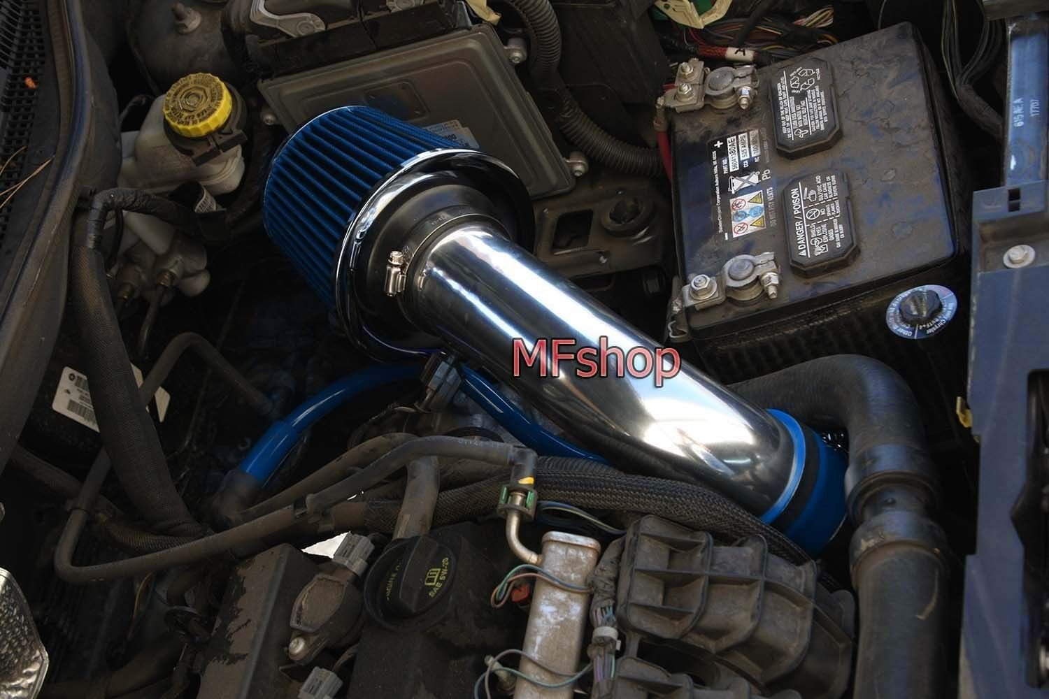 Amazon.com: 2007 2008 2009 2010 Dodge Caliber 1.8L 2.0L 2.4L SE SXT R/T  Express Air Intake Filter Kit System (Blue Filter & Accessories): Automotive