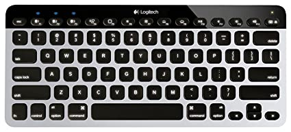 b1a81bc7194 Logitech Easy‑Switch K811 Wireless Bluetooth Keyboard for Mac, iPad,  iPhone, Apple