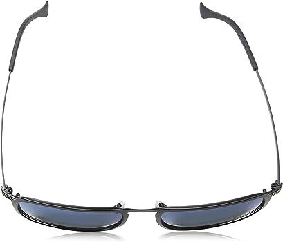 SPL155 Police Rival 8 Men/'s Squared Metal Sunglasses Made In Italy