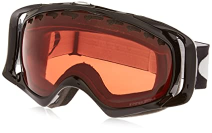f9af24b08f9 Oakley Crowbar Adult Prizm Snowsport Snowmobile Goggles Eyewear - Jet  Black Rose   One Size