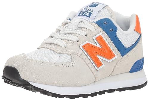 New Balance Boys' 574v1 Sneaker, Nimbus Cloud, 13.5 W US