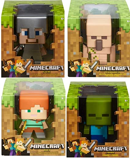 Amazon.com: Mega Group 4 - Figuras decorativas de Minecraft ...