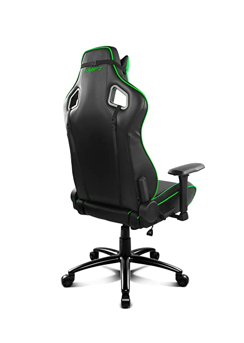Amazon.com : Drift dr400bg Gaming Chair - Black and Green : Office ...